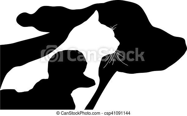 chien, chat - csp41091144