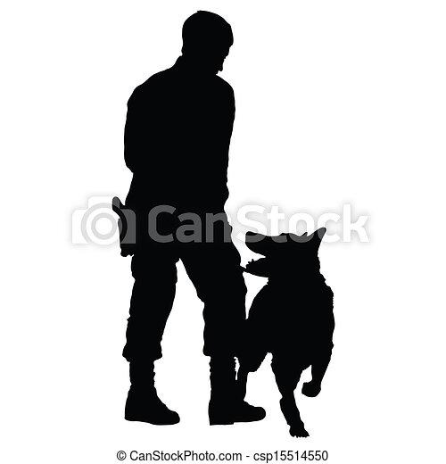 chien policier, 4 - csp15514550