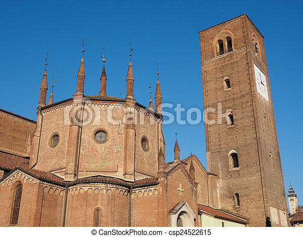 Chieri Cathedral, Italy - csp24522615