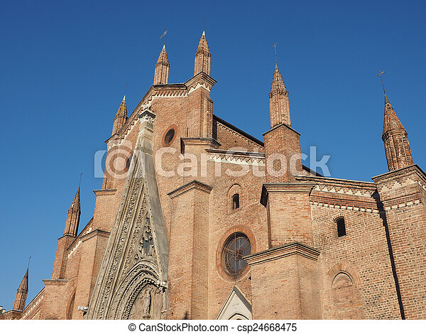 Chieri Cathedral, Italy - csp24668475