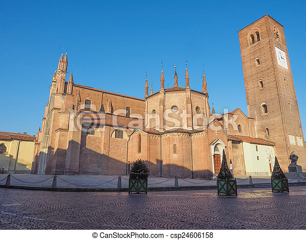 Chieri Cathedral, Italy - csp24606158