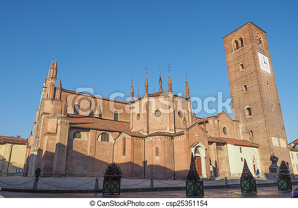 Chieri Cathedral, Italy - csp25351154