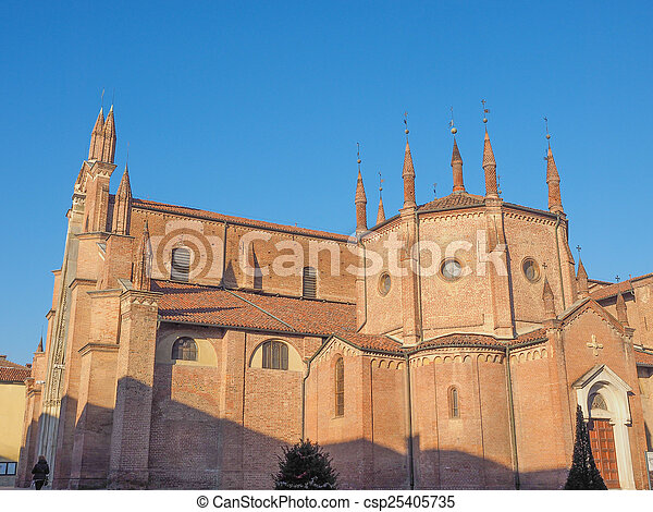 Chieri Cathedral, Italy - csp25405735