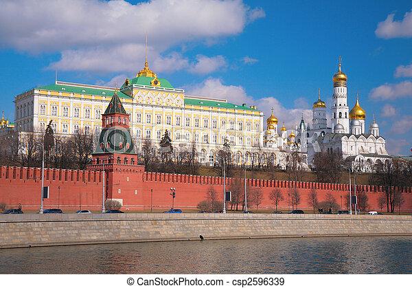 chiese, cremlino, palazzo - csp2596339