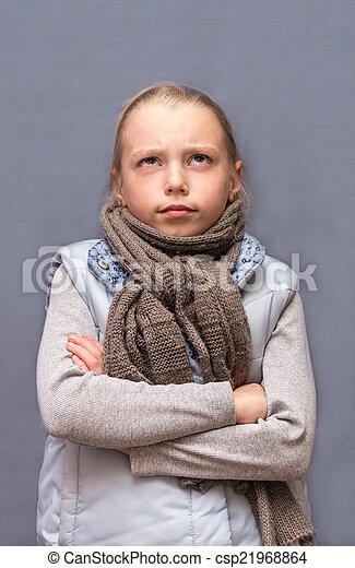 child., 悲しい - csp21968864