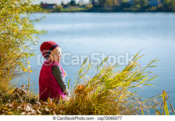 child and water - csp72065077