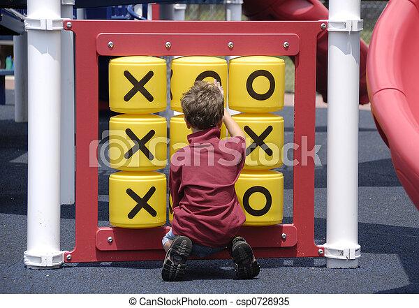Child at Play - csp0728935