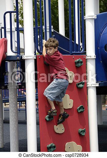 Child at Play - csp0728934