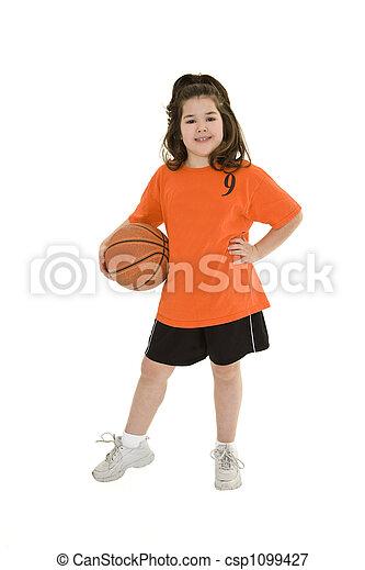 Child Basketball - csp1099427