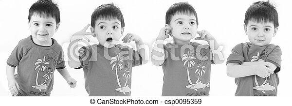 Child Boy Expression - csp0095359