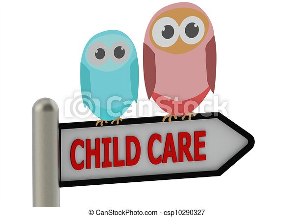 child care rendered artwork with white background clip art search rh canstockphoto com childcare clipart free child care center clipart