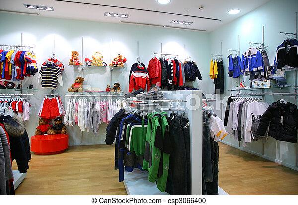 Child clothing department - csp3066400