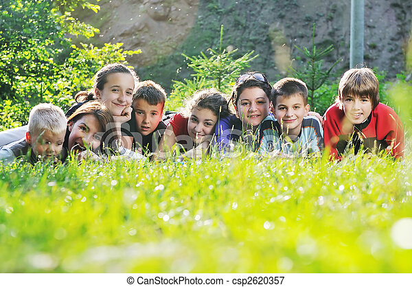 child group outdoor - csp2620357