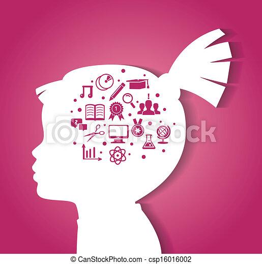 Child Psychology Vector Clipart Royalty Free 382 Child Psychology