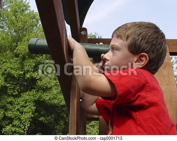 Child Looking - csp0001713