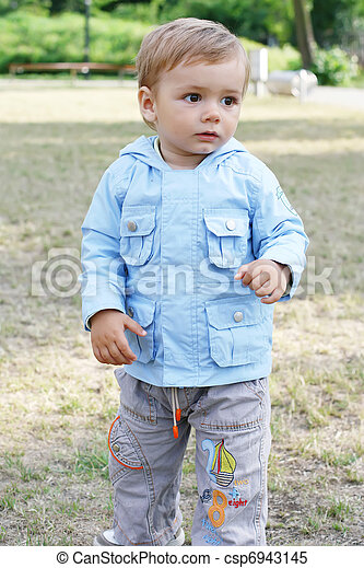child  on a walk - csp6943145