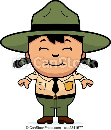 Child Park Ranger - csp23415771