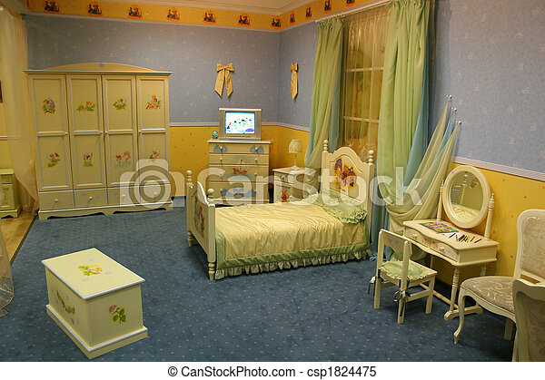 child room - csp1824475