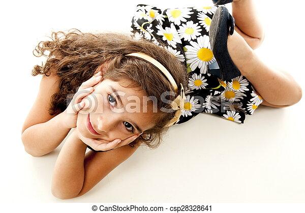 Child Smilling - csp28328641