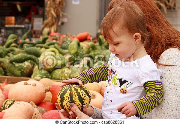 Child Touch Gourd - csp8628361
