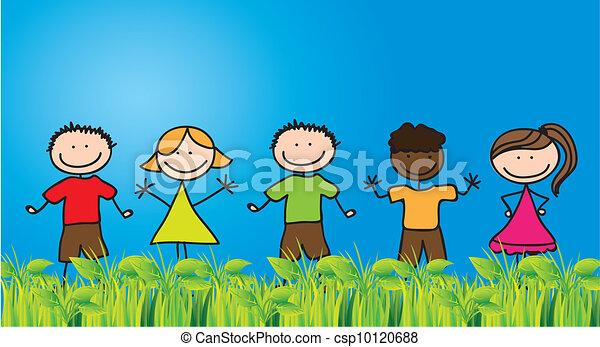 Childhood - csp10120688