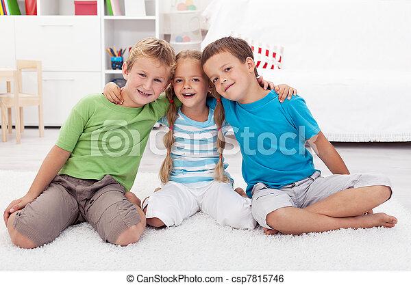Childhood friendship - csp7815746