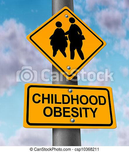 Childhood Obesity - csp10368211