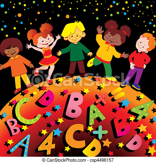 childhood., schule - csp4496157