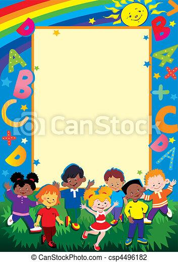 childhood., schule - csp4496182