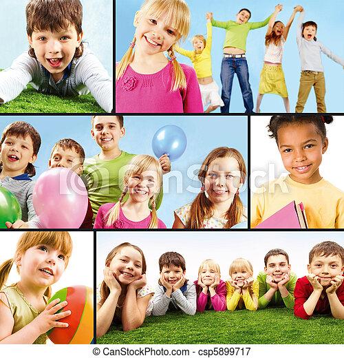 Childish leisure   - csp5899717