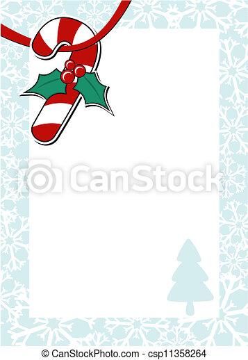 childlike christmas letter - csp11358264