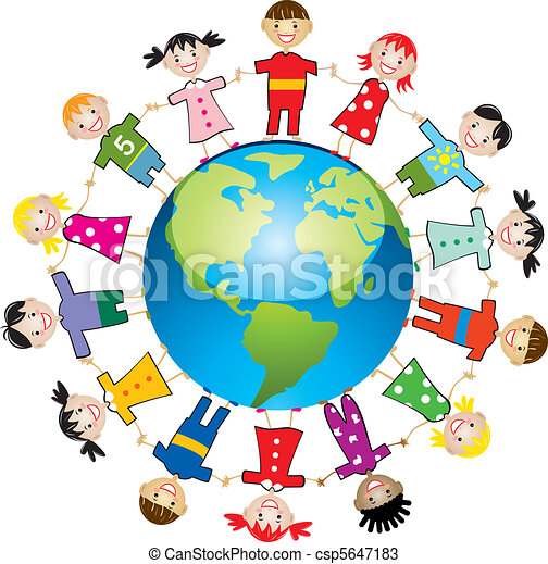 children around the world - csp5647183