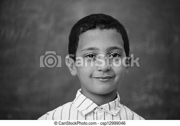 Children at school classroom - csp12999046