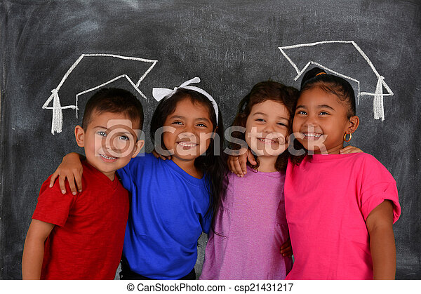 Children At School - csp21431217