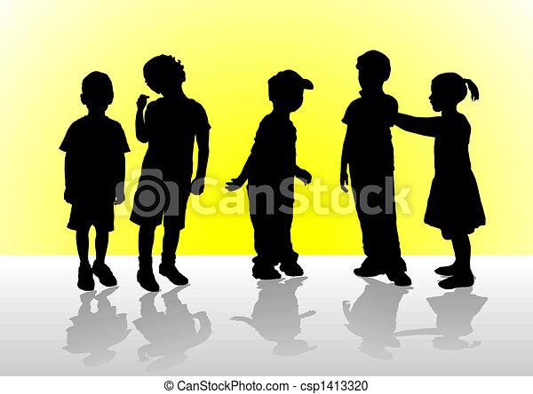 Children - csp1413320