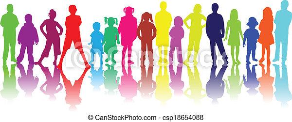Children - csp18654088