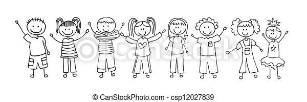 children  - csp12027839