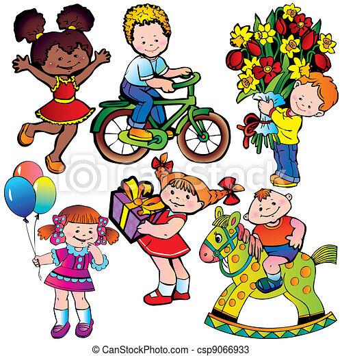 Children. - csp9066933