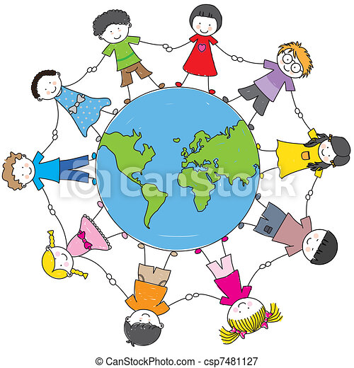 Children from different cultures - csp7481127