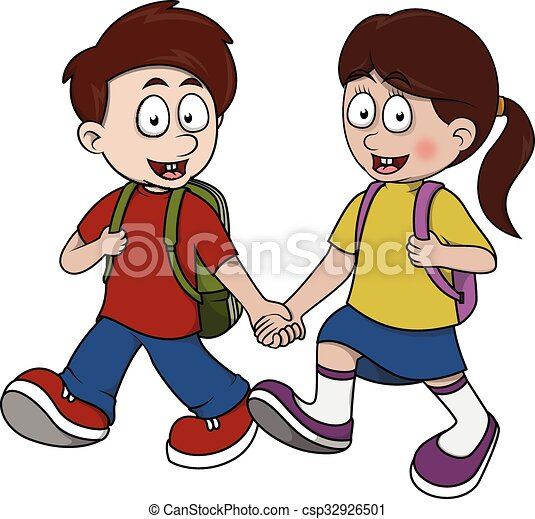 children go to school vector clipart search illustration drawings rh canstockphoto com child going to school clipart student going to school clipart