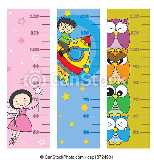 children height meter - csp18724901