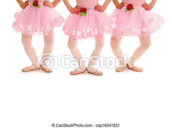 Children Legs in Ballet Plie - csp16541831