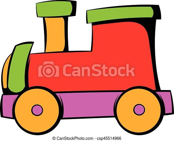 children locomotive icon icon cartoon children locomotive clip rh canstockphoto com steam locomotive clipart free locomotive wagon clipart