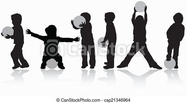 Children playing - csp21346964