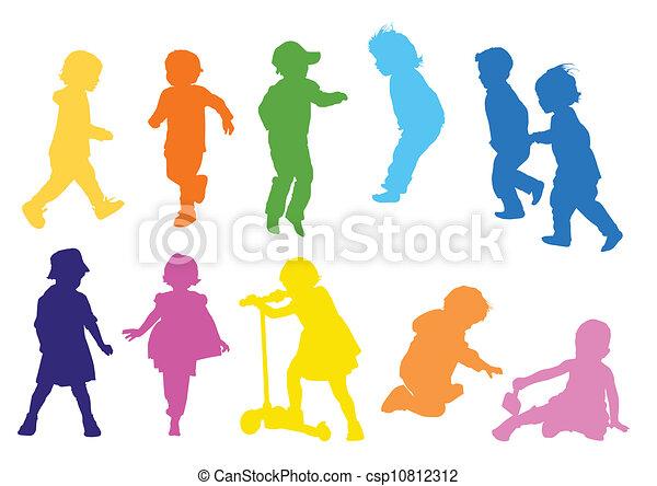 Children playing - csp10812312