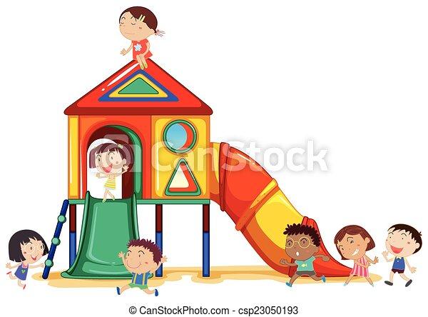 Children playing - csp23050193