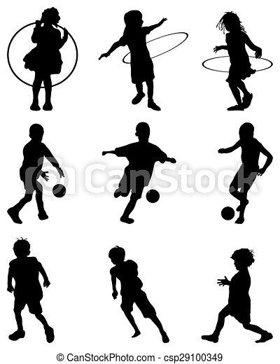 children playing - csp29100349