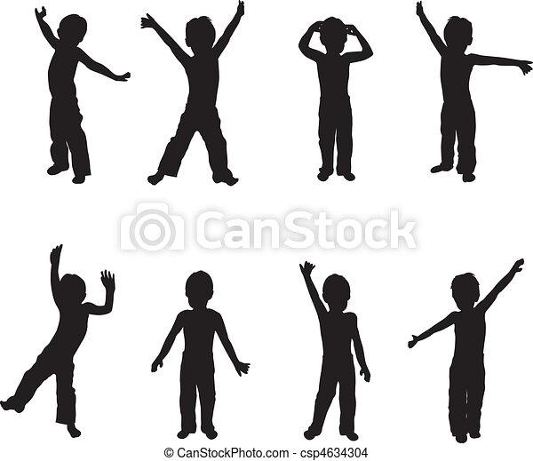 children playing - csp4634304