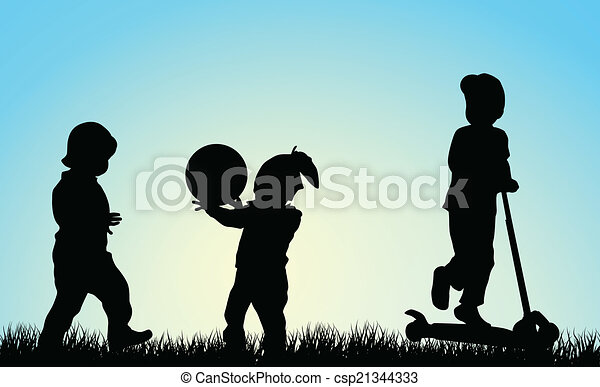 Children playing - csp21344333