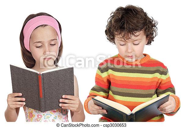 Children reading - csp3030653